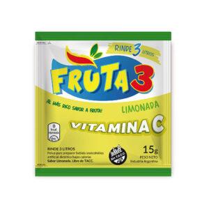 Jugo En Polvo Limonada Fruta 3  – Caja X 18 U