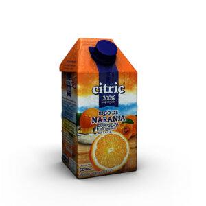 Jugo De Naranja 100% Exprimido Citric X500Ml