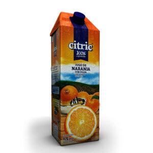 Jugo De Naranja 100% Exprimido Citric X1,5Lt