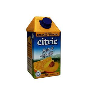 Jugo De Naranja-Durazno Citric X500Ml