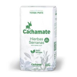 Yerba Mate Cachamate Hierbas Serranas X 500 Grs – Pack X 6U