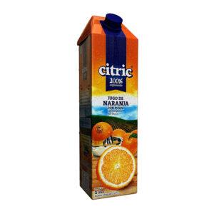 Jugo De Naranja 100% Exprimido Citric X1L