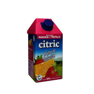 Jugo De Naranja-Frutilla Citric X500Ml