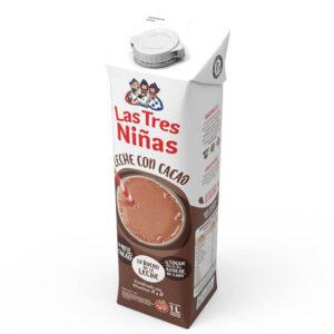 Leche Con Cacao Las Tres Niñas 1 Lt x 12U