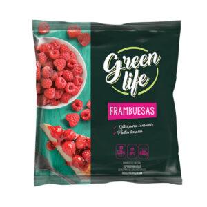 Frambuesas Green Life X 400 Grs