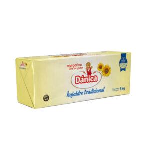 Margarina Dánica Hojaldre Tradicional X 5 Kgs