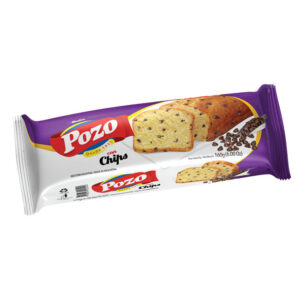 Budin De Vainilla Con Chips De Chocolate Pozo X 170Grs