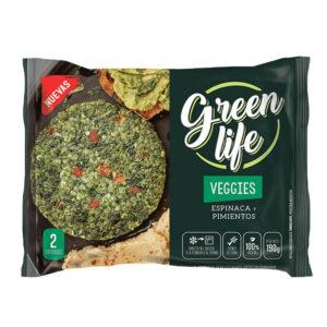 Veggies Green Life –  Espinaca Y Pimiento X 2U
