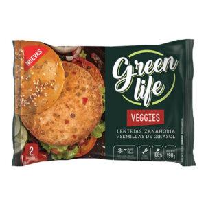 Veggies Green Life – Lenteja Y Zanahoria  X 2U