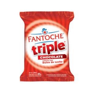 Alfajor Triple Chocolate Fantoche X 85Grs X 12U