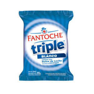 Alfajor Triple Leche Fantoche X 85Grs X 12 U