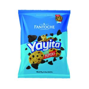 Galletitas Yayitas Con Chips De Chocolate Fantoche X275 Grs