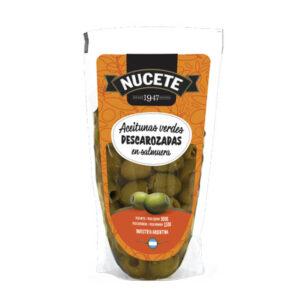 Aceitunas Verdes Descarozadas Nucete – Doypack X 150 Grs