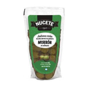 Aceitunas Verdes Rellenas Nucete – Doypack X 180 Grs