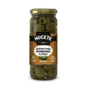 Aceitunas Verdes Descarozadas Nucete – Frasco X 160 Grs