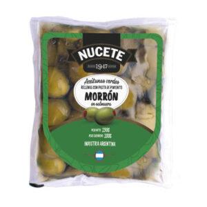 Aceitunas Verdes Rellenas Nucete – Sachet X 100 Grs